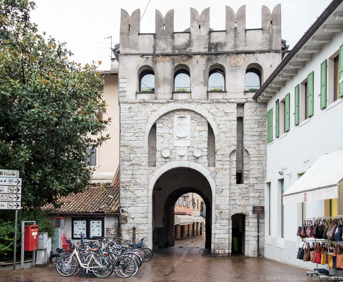 Porta Bruciata in der Innenstadt von Riva