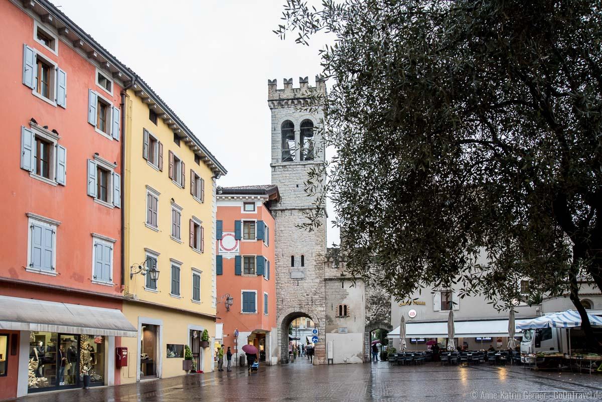 Porta San Michele und Piazza Cavour