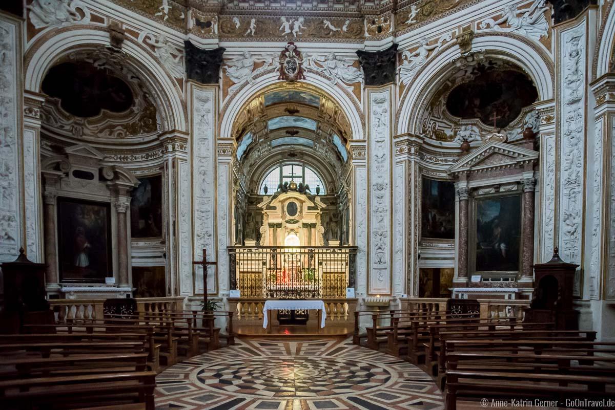 Hauptaltar und Altarbilder von Palma il Giovane