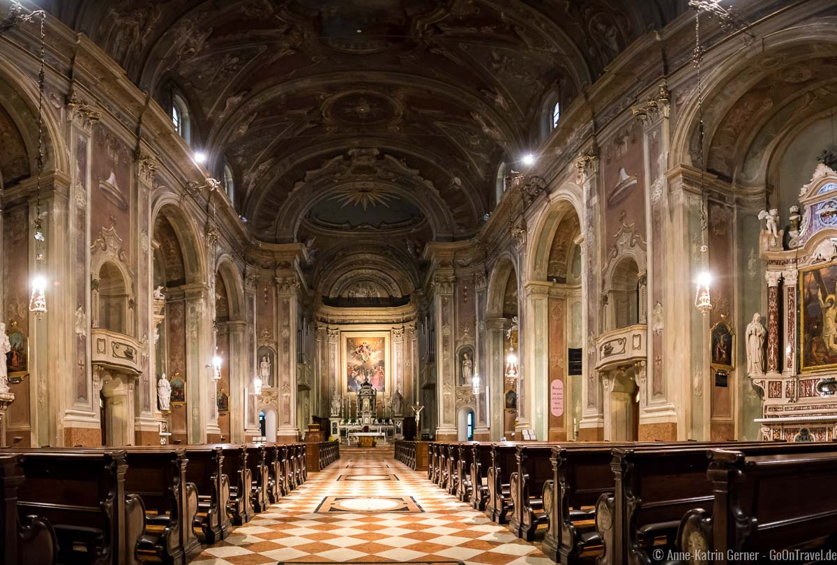 Kirche Santa Maria im Barockstil