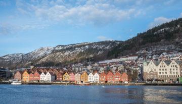 Bergen in Norwegen im Winter erleben