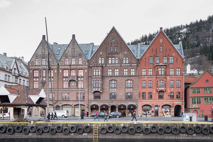 hanseatisches Flair in Bergen