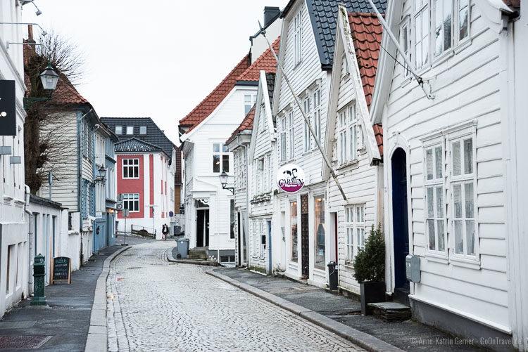 Holzhäuser in der Lille Øvregaten