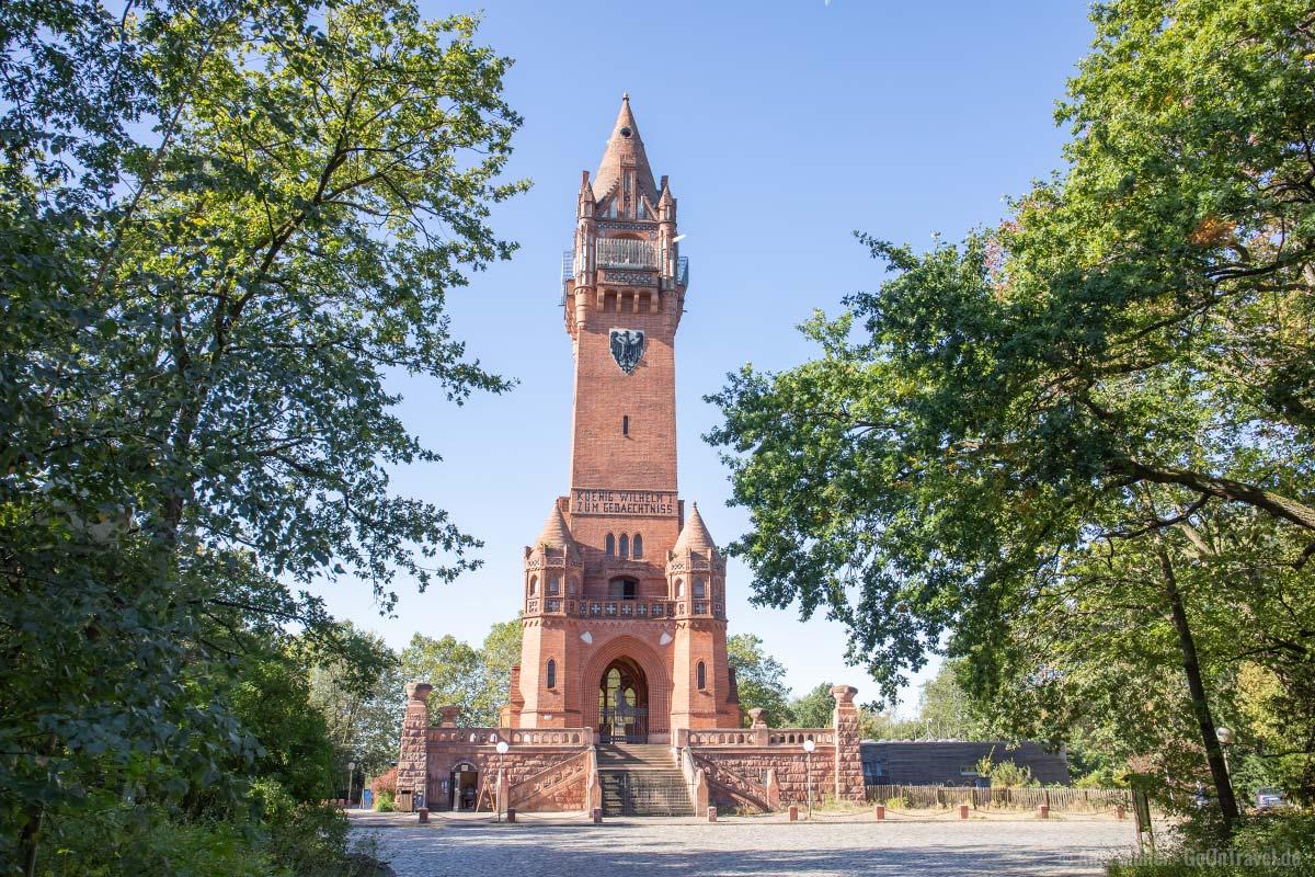 Grunewaldturm auf dem Karlsberg