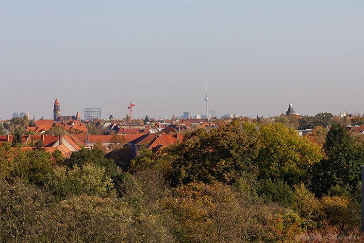 Blick auf Berlin vom Klinikum Steglitz