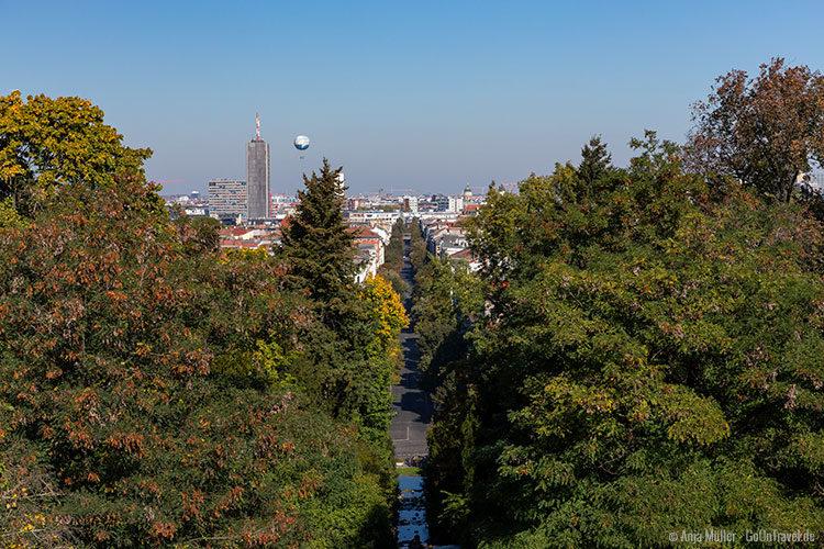 Blick auf Berlin vom Viktoriapark aus