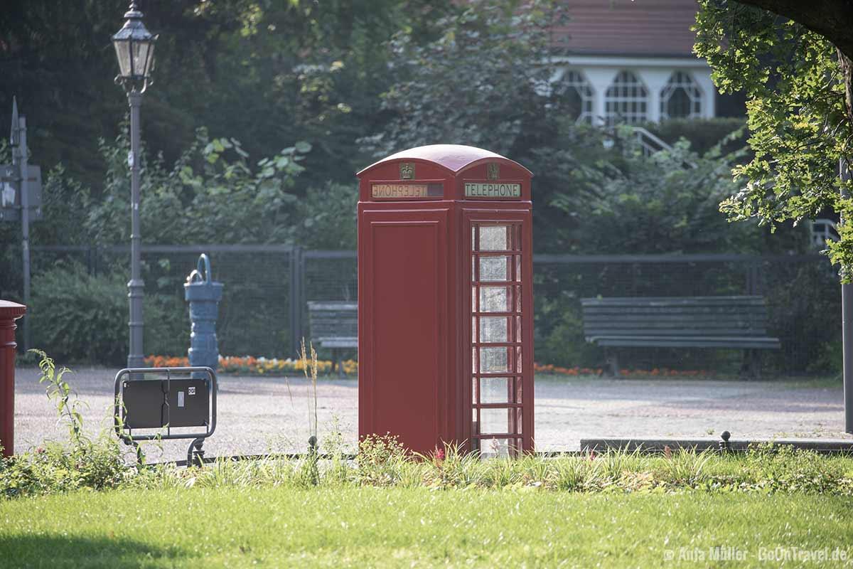 Britische Telefonzelle mitten in Berlin