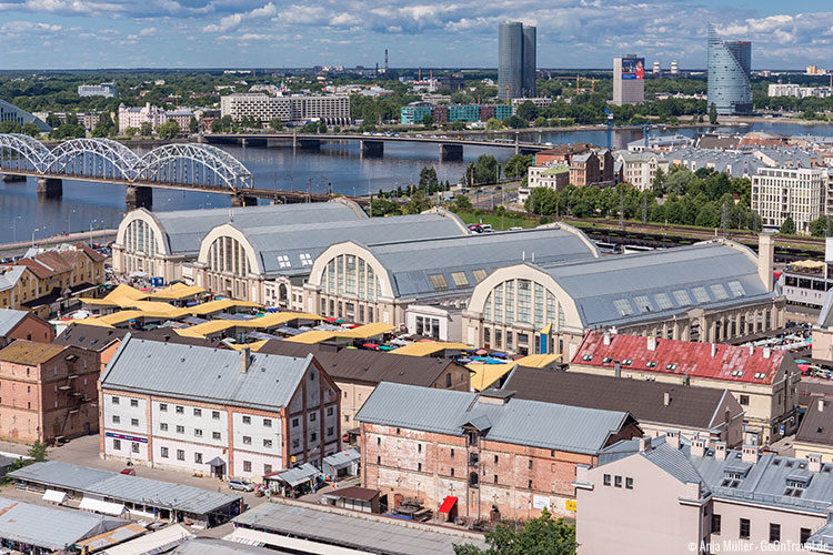 Riga Tipps: Der Zentralmarkt in der Moskauer Vorstadt