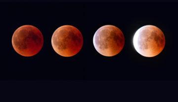 Mond-Fotografie: Den Vollmond, Supermond oder die Mondfinsternis mit Blutmond richtig fotografieren