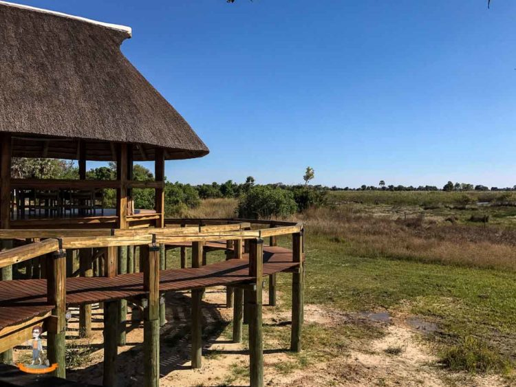 Das Camp Okavango in Botswana