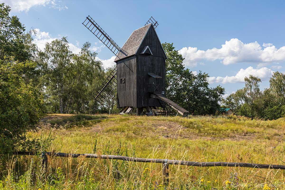 Bockwindmühle Prietzen im Havelland