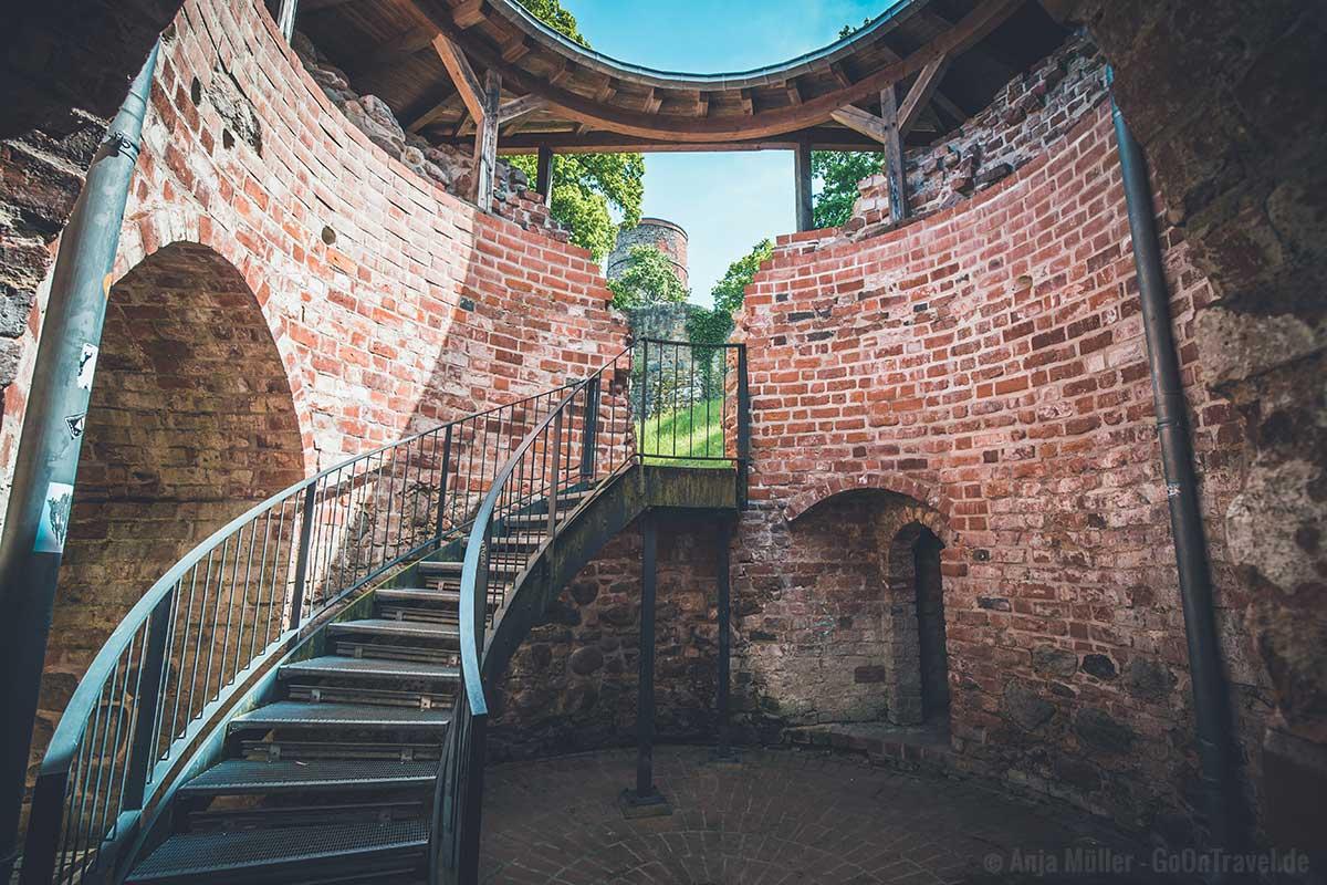 Wehranlage der Burg Eisenhardt