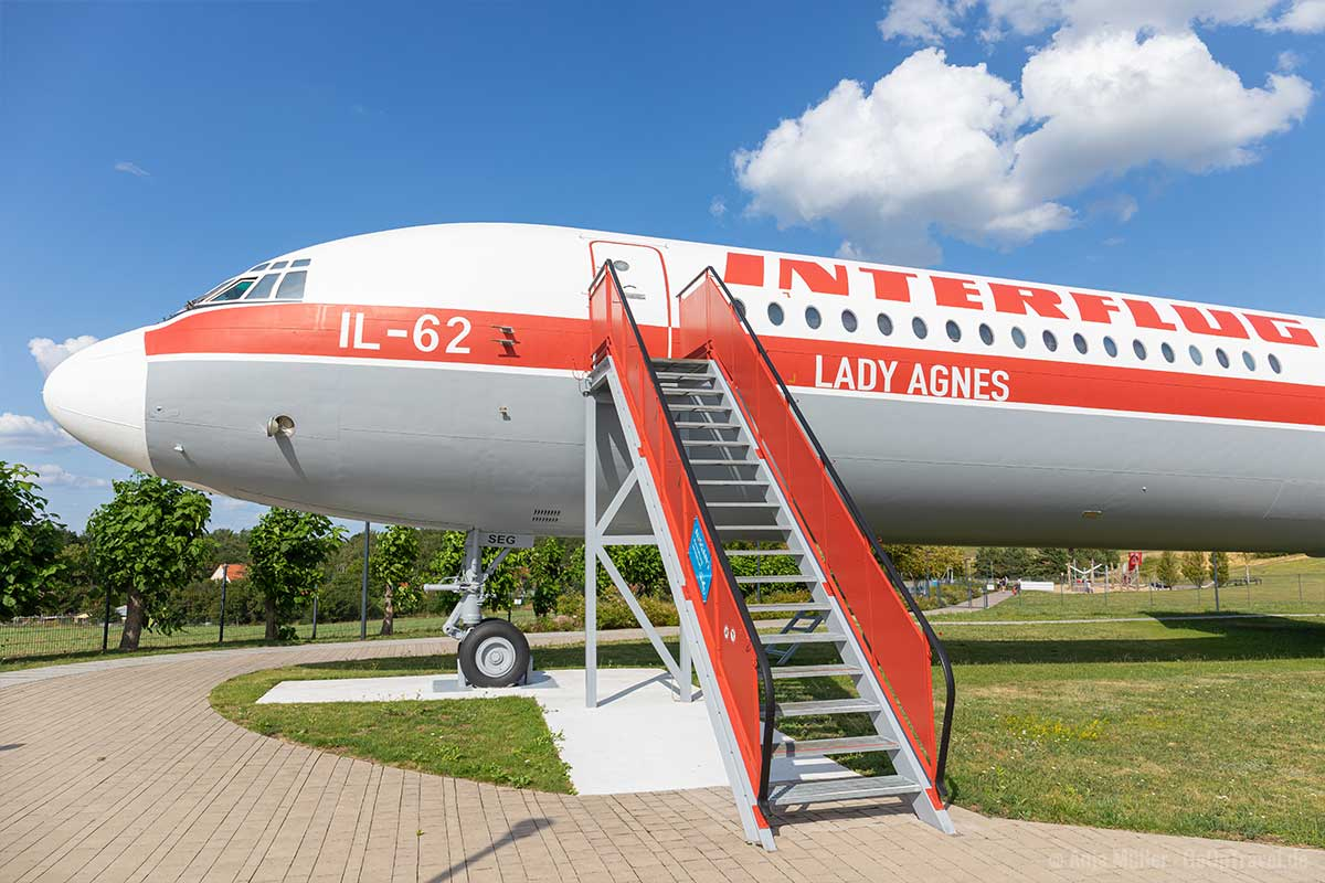 Lady Agnes - Interflug IL-62