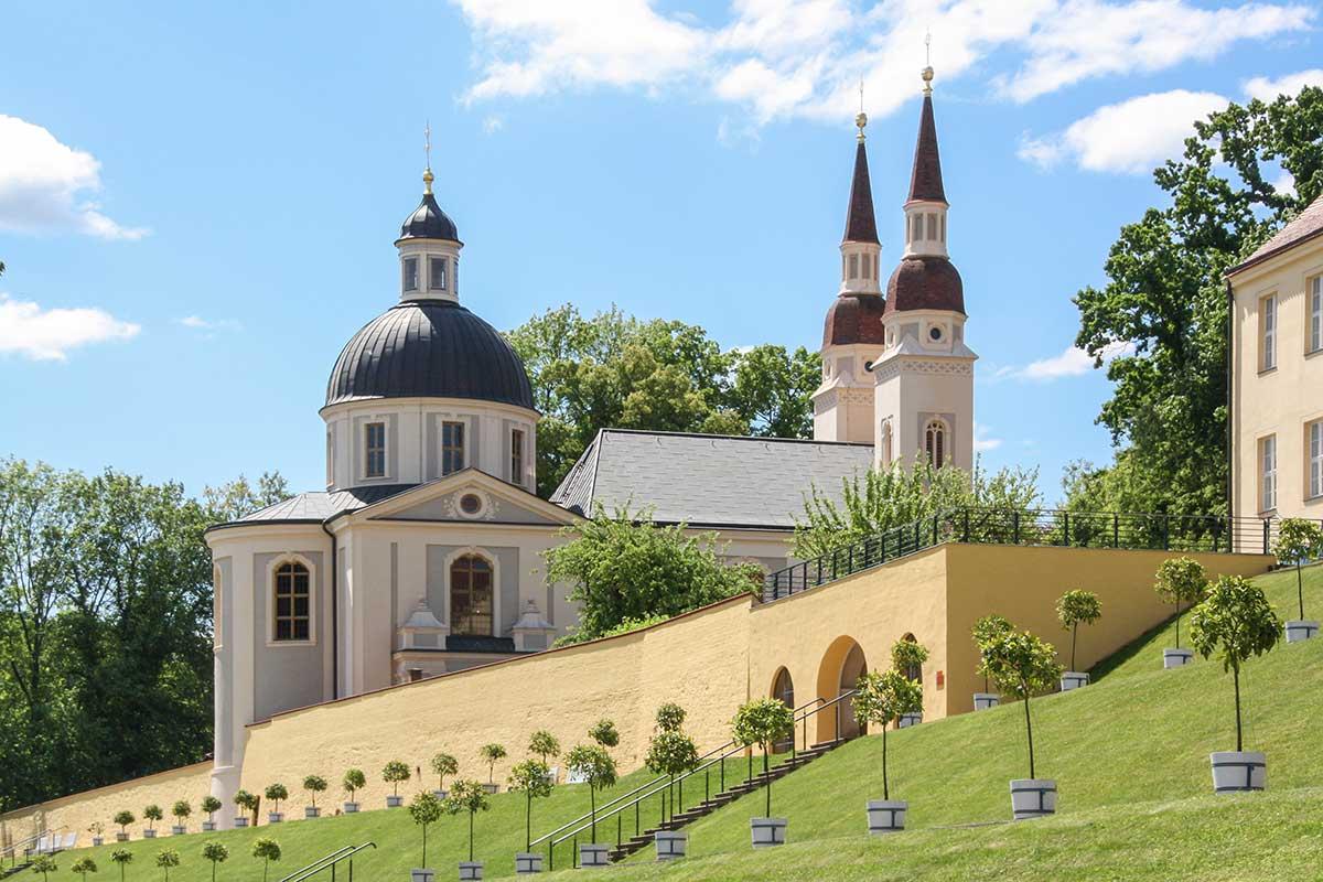 Klostergarten von Neuzelle