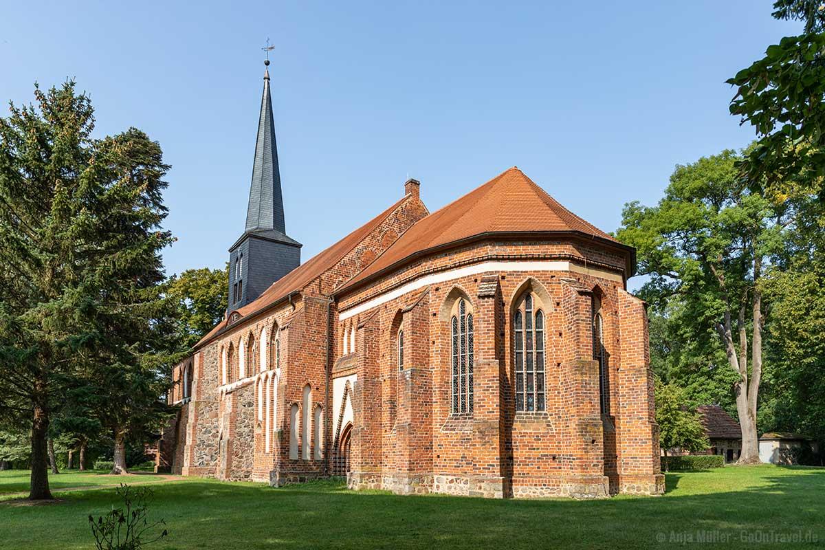 Klosterkirche Marienfließ von außen