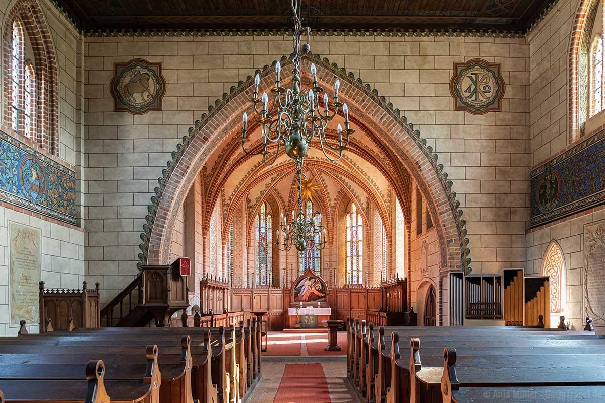 Klosterkirche Marienfließ von innen