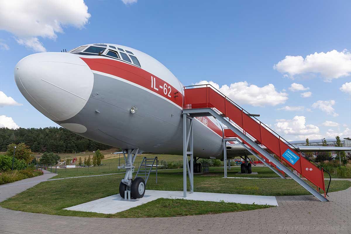 Das Flugzeug ist wohl die ungewöhnlichste Sehenswürdigkeit Brandenburgs