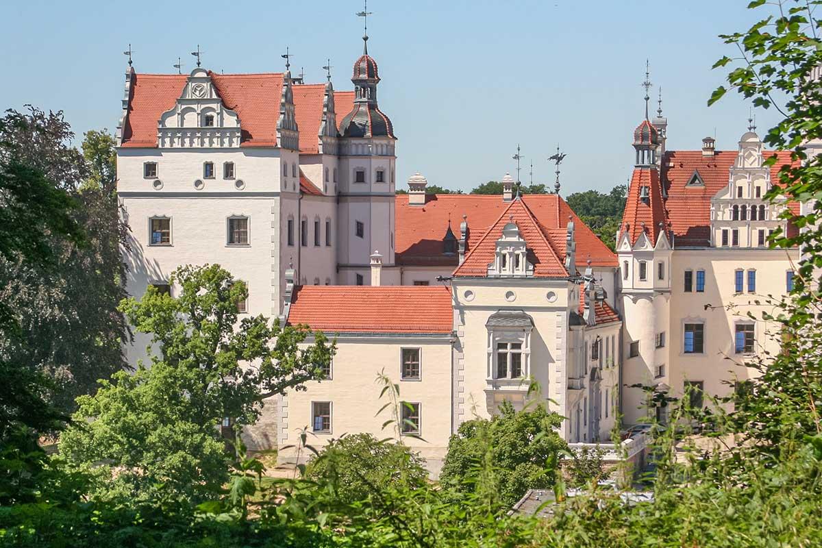 Im Schloss Boitzenburg kann man auch übernachten