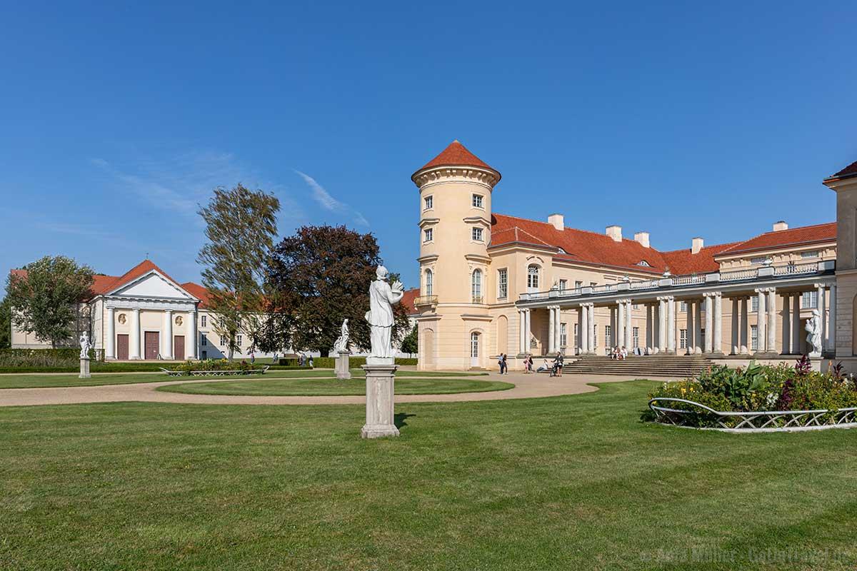 Im Lustgarten von Schloss Rheinsberg