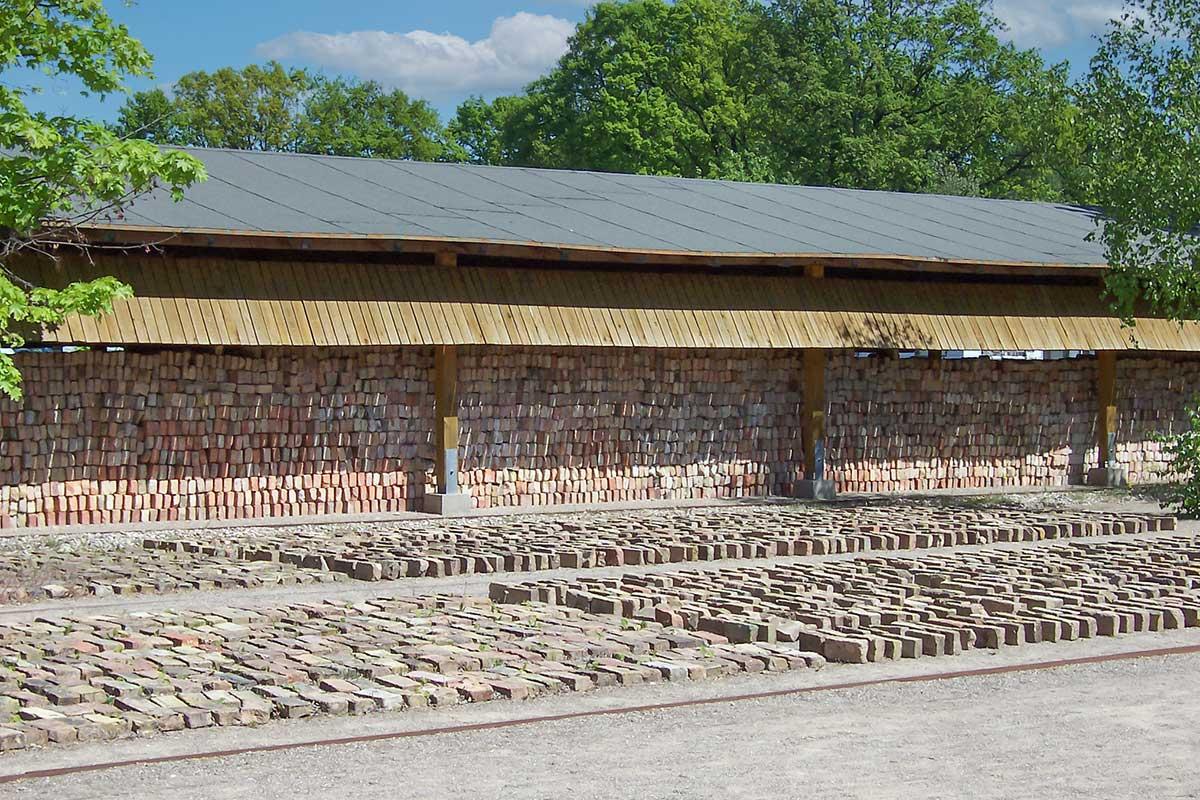 Im Ziegeleipark Mildenberg wurde viel Baumaterial hergestellt