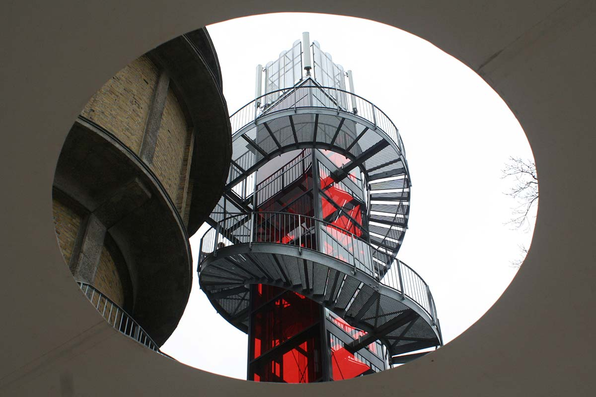 Wasserturm und Aussichtsturm