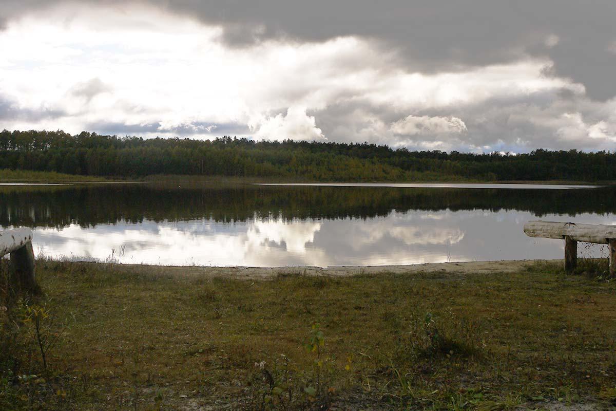 Blick auf den großen Pinnowsee