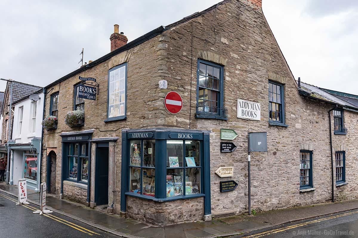 Einer von 38 Buchläden in Hay-on-Wye