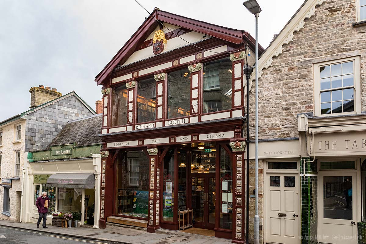Das Antiquariat von Richard Booth in Hay-on-Wye