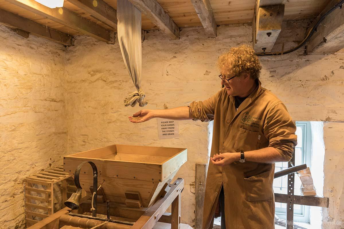 Vorführung in der Talgarth Mill
