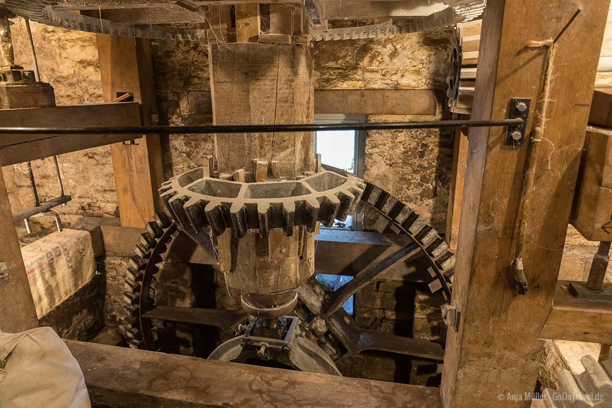 In der Mühle von Talgarth