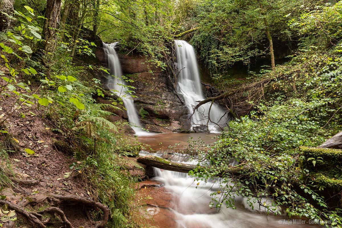 Wasserfall bei Talgarth