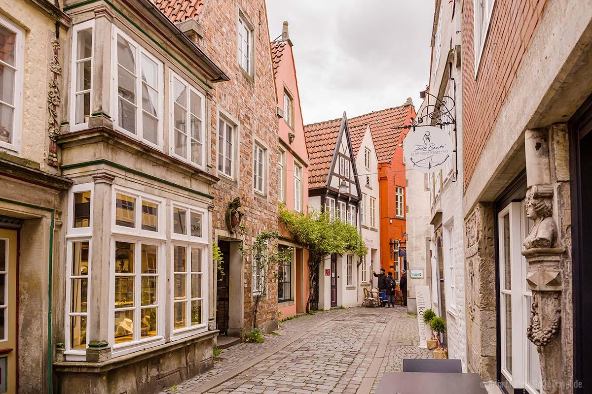 Das Schnoorviertel in Bremen