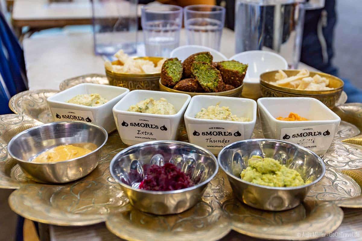 Die Hummus Spezialitäten von Smorl's