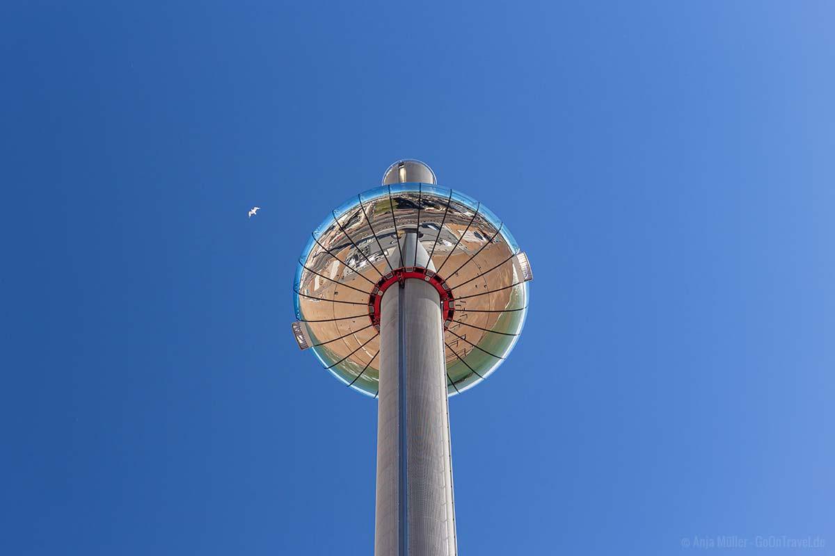 360 Grad Aussichtskuppel in Brighton