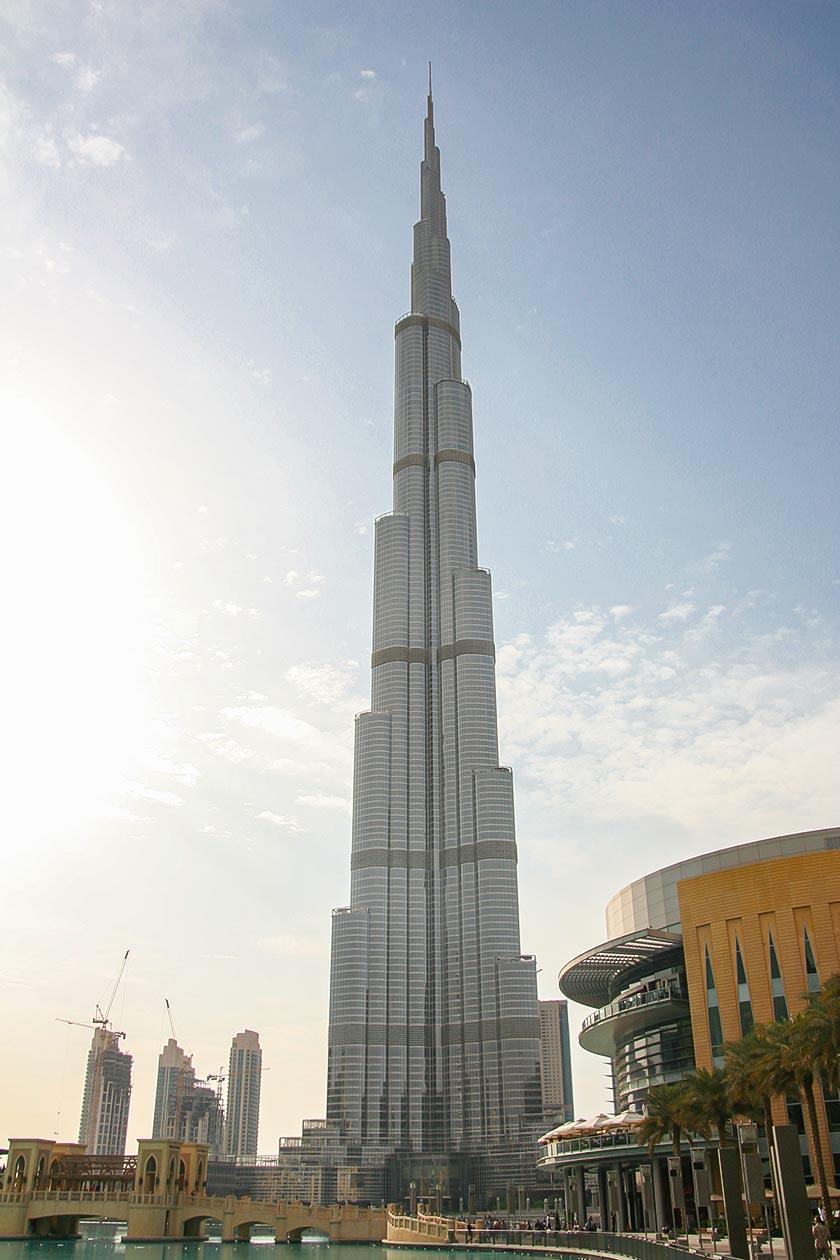 Der Burj Khalifa ist das höchstes Bauwerk der Welt