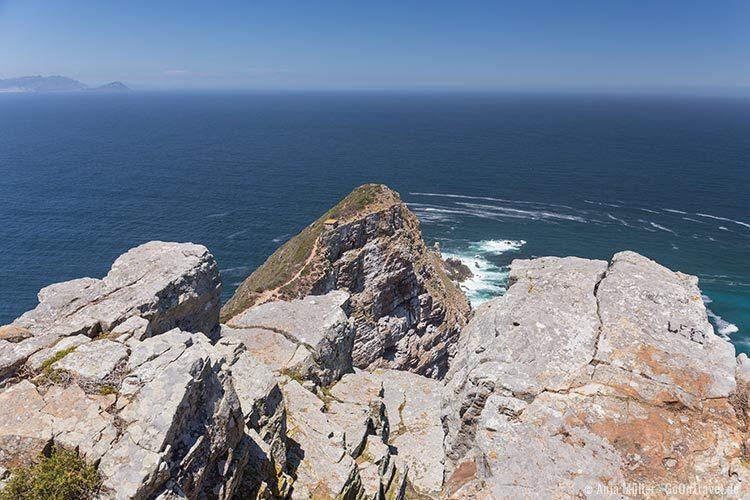 Blick auf Cape Point