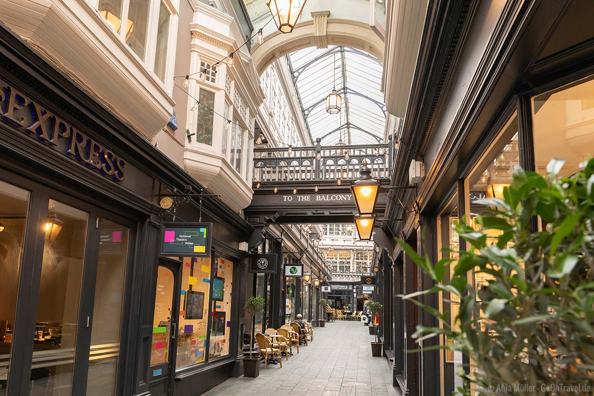 Duke Street Arcade Cardiff
