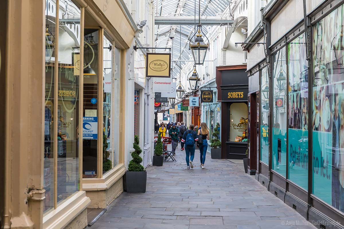Royal Arcade in Cardiff