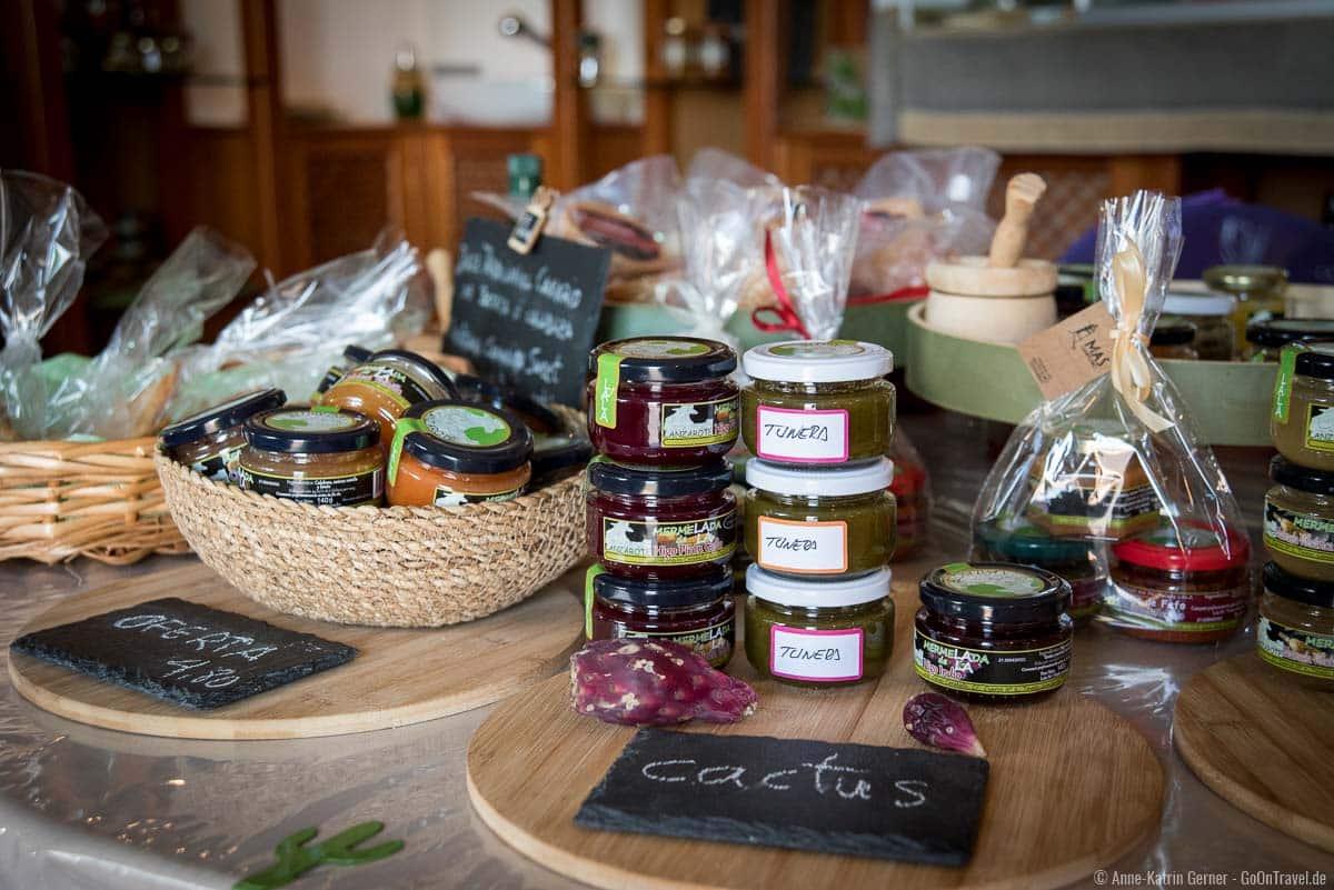 Lokale Produkte von Lanzarote lassen sich im Landwirtschaftsmuseum verköstigen und käuflich erwerben.