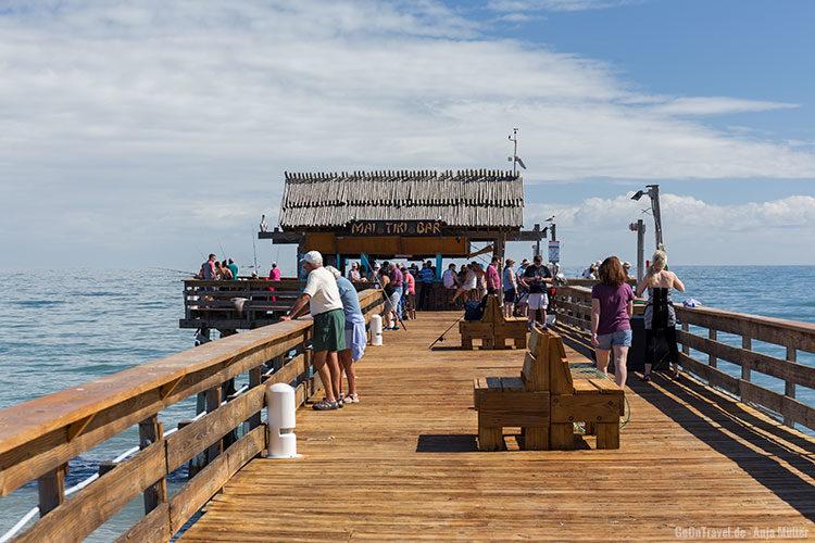 Auf dem Cocoa Beach Pier