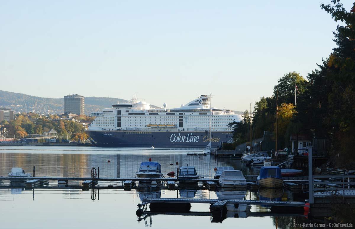 Die Color Magic im Hafen von Oslo