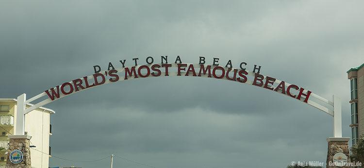 Auf zum Strand von Daytona Beach