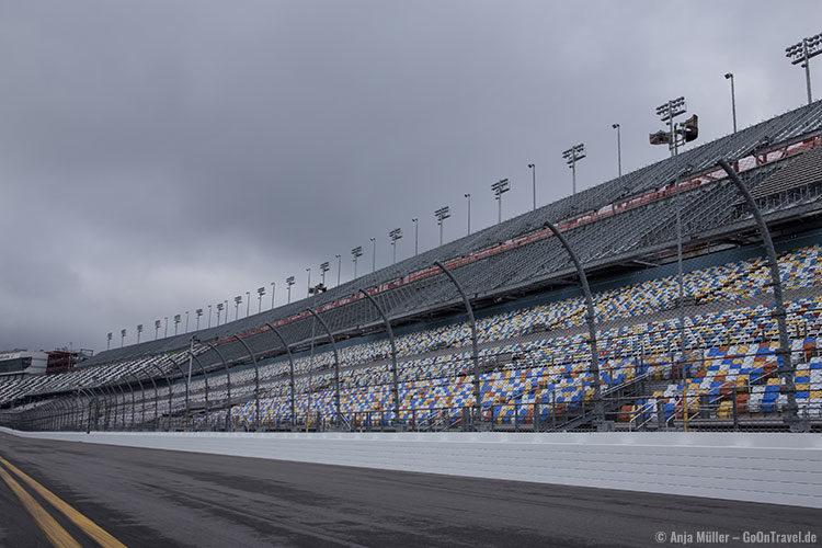 Auf der Rennstrecke von Daytona