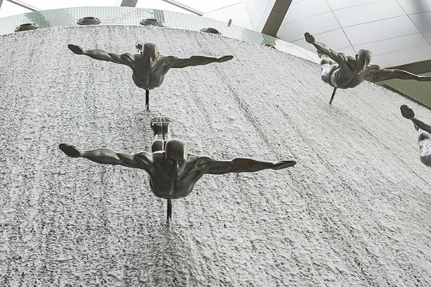 Architektur auch in der Dubai Mall