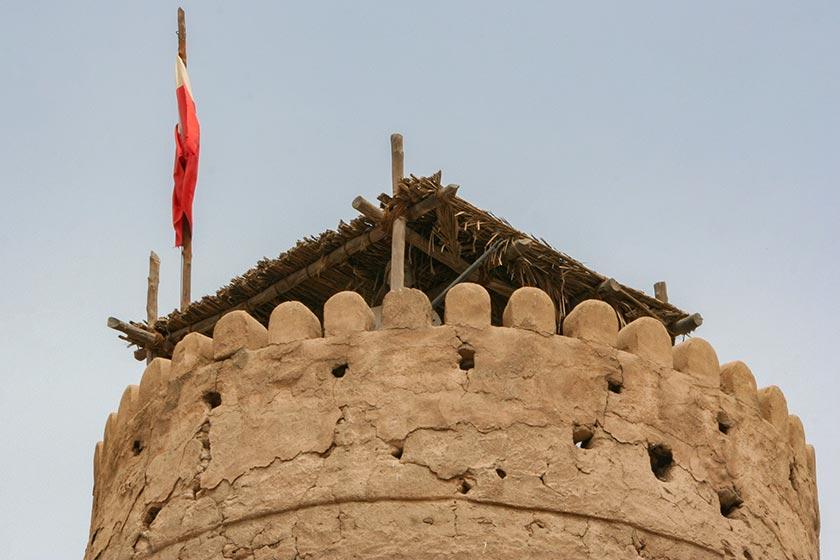 Auf dem Dach vom Dubai Museum