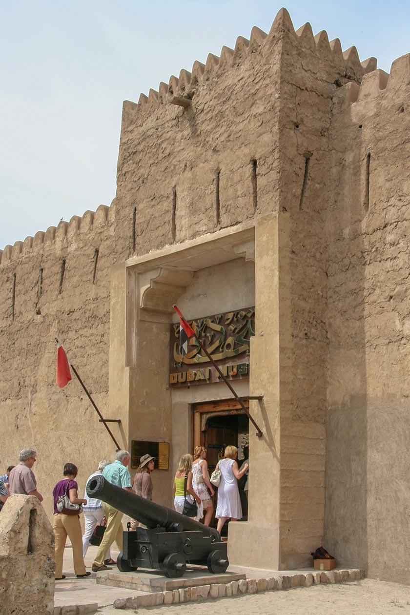Eingang zum Dubai Museum