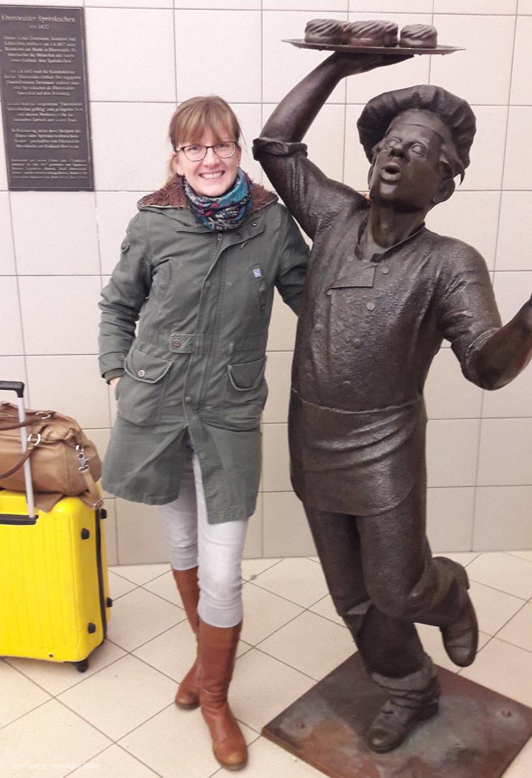 Anne und der Eberswalder Spritzkuchenjunge