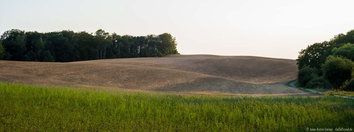 Endmoränenlandschaft im Biosphärenreservat Schorfheide-Chorin