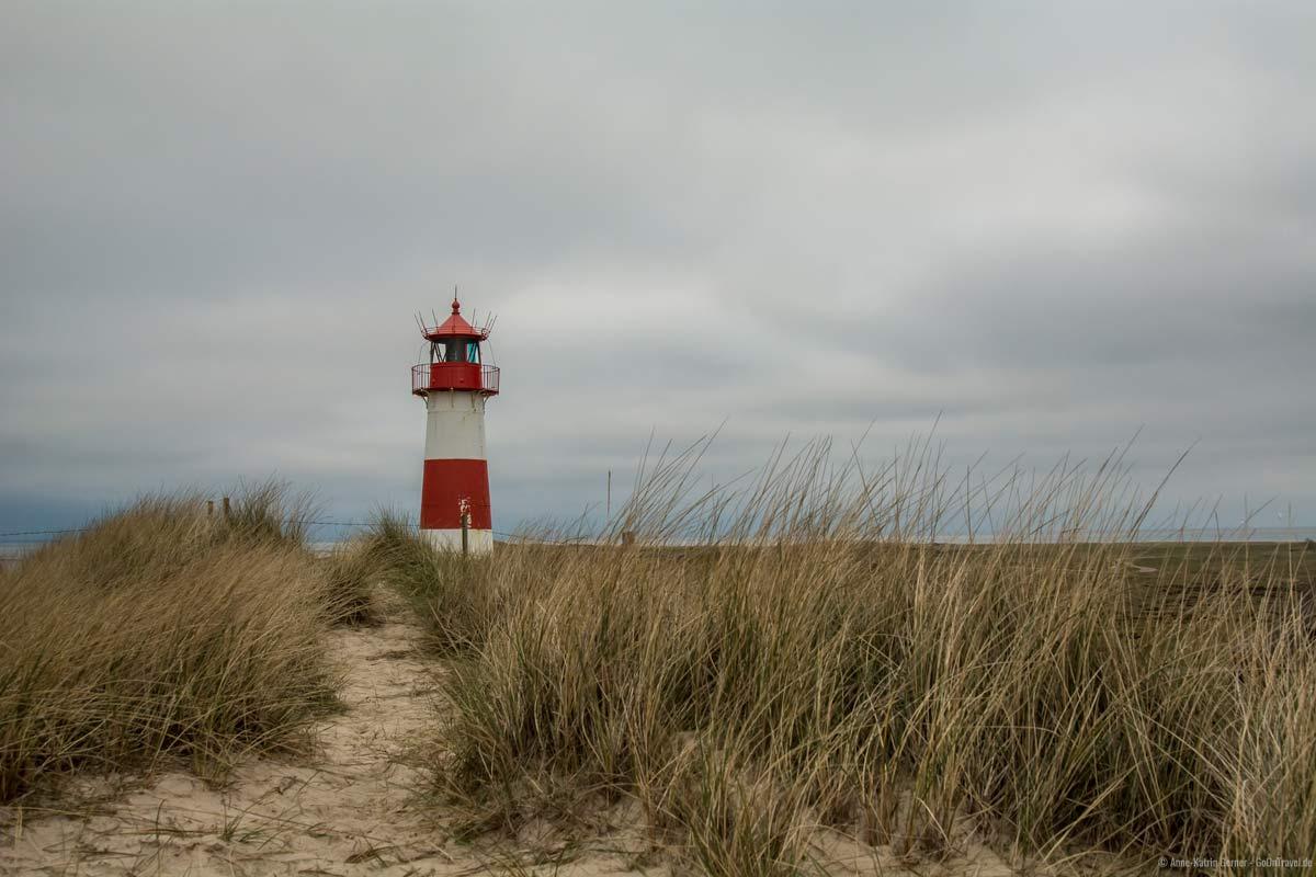 Leuchtturm List-Ost am Ellenbogen