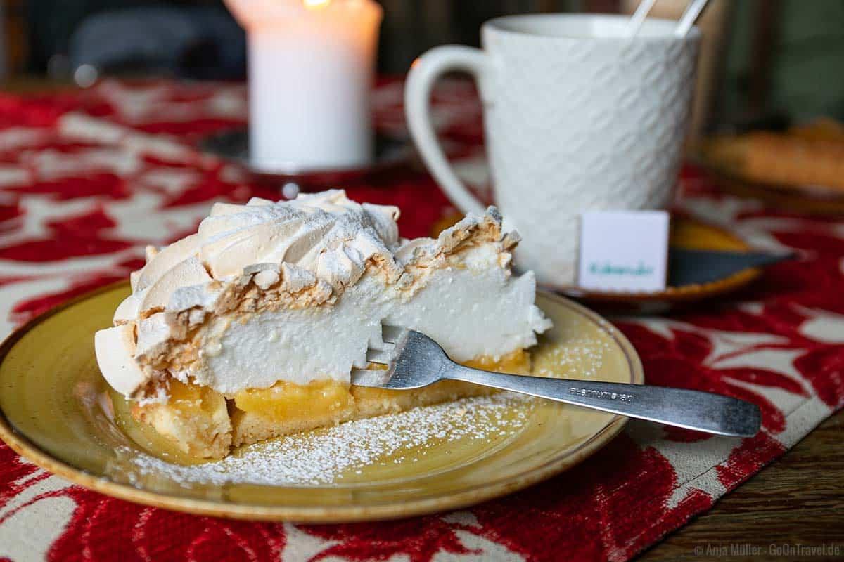Leckere Kuchen und Torten gibt es im Kehrwieder in Tallin